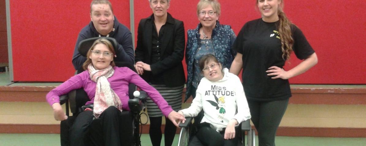 Wallace Co Wheelchair Dance